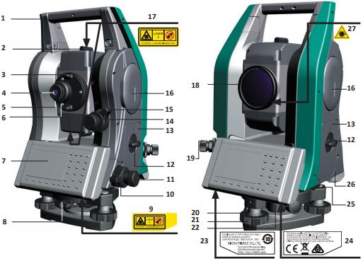 total station nikon xs series